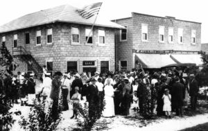 First Bank Was Built